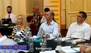 event w postaci konferencji cinema city